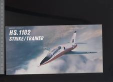 (192) Brochure aviation Aircraft Hawker Siddeley HS.1182 Strike/Trainer