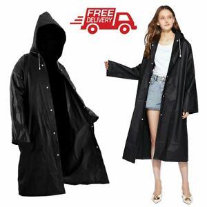 Damen Herren Regenjacke Regenponcho Regenmantel Regenschutz Raincoat Waßerdicht