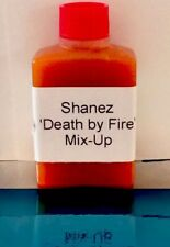 Mix-Up 'Death By Fire' Lunch Bottles 10x15ml Shanez  Hot Sauce