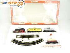 E135 Fleischmann H0 321 6370 Startset 13-tlg Dampflok + Güterwagen + Gleisoval