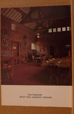 Unposted postcard The Tea Room, Arley hall gardens, Cheshire EC c2