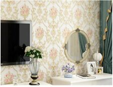 Vintage Floral Non Woven Contact Paper Self Adhesive Damask Wallpaper Wall Decor