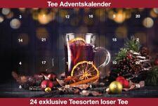 Grüner Tee Adventskalender 24 verschiedene Grüne- weiße- und Oolong Tees