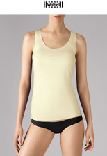 WOLFORD PURE TOP Tank in Primrose Size:M  Ret: $120 New Boxed & w/Tags
