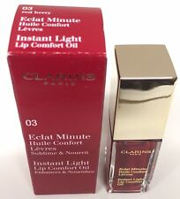 Clarins  Instant Light Lip Comfort Oil Limited Edition 03 Red Berry 7ml./0.1oz.