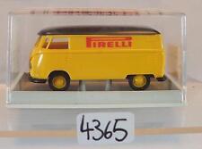 Brekina 1/87 Nr. 32525 Volkswagen Bulli VW T1b Kasten Pirelli Reifen OVP #4365