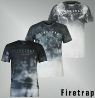 Mens Firetrap Short Sleeves Crew Top Blackseal Sub T Shirt Sizes from S to XXXL