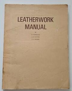 TANDY LEATHERWORK MANUAL