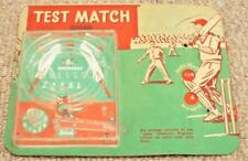 Vintage 1950's Test Match Cricket Bagatelle / Pinball Game - Selcol