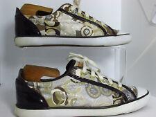 Coach Barrett GRAFFITI Womens Flats Trainers Shoes Size 6.5