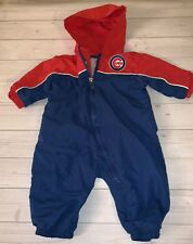 Chicago Cubs Baseball Club Infant Track Suit Warm Up Outfit 6 9 Months Mlb