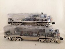 "Lionel 1999 Platinum Ghost Powered Clear Cab and F3A Powered ""2333"" #38150 MINT"