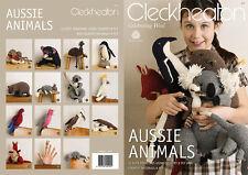 CLECKHEATON - AUSSIE ANIMALS PATTERN BOOK #977