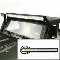 Für 1/10 Traxxas Trx-4 SCX10 Jeep Wrangler RC Car 32 LED Licht Dach Lampe Bar