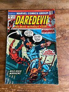 Daredevil #111 Marvel Comics 1974 Key 1st Appearance Of Silver Samurai e