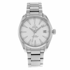 Stainless Steel Band Men's Round OMEGA Wristwatches