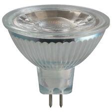 LED Glass MR16, 5w, 12V, 2700K, Warm White, 3293