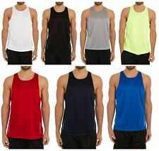 Mystery Men's Athletic Performance Tanks - 2 Pack