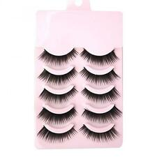 Pairs Beauty Thick  Soft Handmade False Eyelashes Eye Lashes Extension Natural