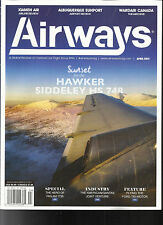 AIRWAYS MAGAZINE,        APRIL, 2017   ( A GLOBAL REVIEW OF COMMERCIAL FLIGHT )