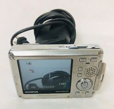 Olympus Stylus 770 SW 7.1MP Digital Camera - Silver Shock + Waterproof