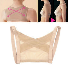Adjustable Shoulder Corrector Beauty Posture Therapy Brace Belt Back Support EB