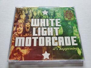 WHITE LIGHT MOTORCADE - It's Happening (CD) 2002 INDIE ROCK Enhanced CD