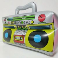 PVC Radio Simulation Inflatable Boom Box Kids Party Fancy Dress Props Fun Gifts