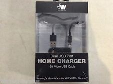 Just Wireless Car Vehicle Truck Automotive 5' ft Charger Sync Micro USB