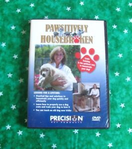 Dog Housebreaking Pawsitively DVD Housebroken Potty Training Crating New Sealed