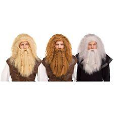 Viking Wig & Beard Costume Accessory Adult Halloween