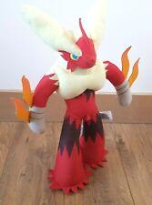 "Pokemon 16"" Training Plush Mega Blaziken TOMY Sound Talking Stuffed Toy T18624D"