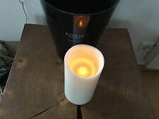 SOMPEX FLAME LED AUSSEN KERZE KUNSTSTOFF WACHS OPTIK 8 STUNDEN TIMER 17 x 9 cm