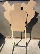 Target Stand Shooting Holder Base USPSA IPSC IDPA 3 Gun Steel Made In USA 1 Raw