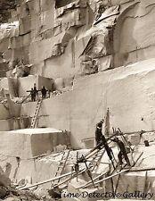 Granite Quarry, Concord, New Hampshire - 1908 - Historic Photo Print