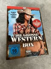 Die grosse Western Box 3 DVDs John Wayne/ Django Klassiker