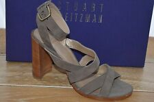 NIB STUART WEITZMAN Womens SOUNDTRACK Taupe Suede Strappy Heel Size 6 EUR 36