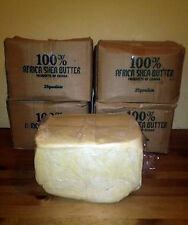5 Lbs Raw Organic SHEA BUTTER Unrefined Pure White/Ivory GHANA Premium Grade A