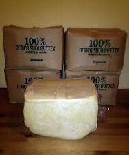 5 Lbs Raw Organic SHEA BUTTER Unrefined Pure White/Ivory GHANA Premium Grade A