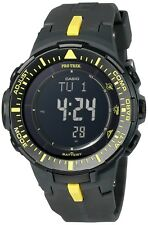 New Casio Men's PRG-300-1A9CR Pro Trek Triple Sensor Tough Solar Digital Display