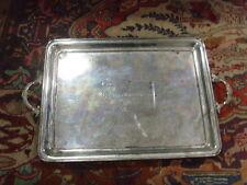 1875 antique 30x19 inch silver plate try dutschen bundesschiessen stutgart 46426