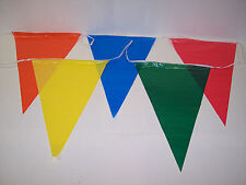 100 ft FLAGS BANNER PENNANTS GRAND OPENING SPECIAL EVENT STREAMERS STRING PARTY