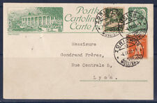 a/ Suisse carte entier et timbres en complement de 1923