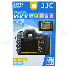 JJC 2KITS Anti-Smudge LCD Guard Screen Protector Film For Nikon D7100 D7200