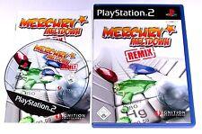 """PS 2 Playstation 2 Spiel """" MERCURY MELTDOWN REMIX GESCHICKLICHKEIT """" KOMPLETT"""