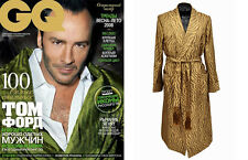 BRAND NEW $4,530 TOM FORD MEN'S SILK ROBE size Small