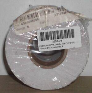 Epson Etikettenrolle C33S045534 76x51mm Premium matt Colorworks C3400 C3500