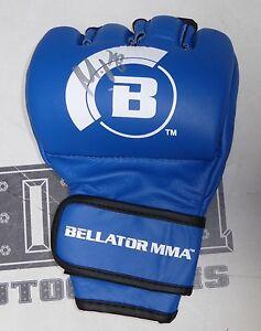 Michael Venom Page Signed Official Bellator MMA Fight Glove PSA/DNA COA MVP Auto
