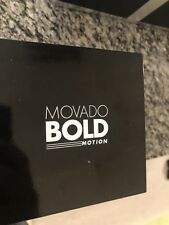 Movado Bold Motion Silicone Strap Men's Smart Watch
