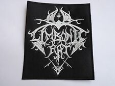 LIMBONIC ART EMBROIDERED LOGO BLACK METAL PATCH
